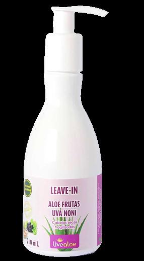 Leave-in Natural - Aloe Frutas - Livealoe
