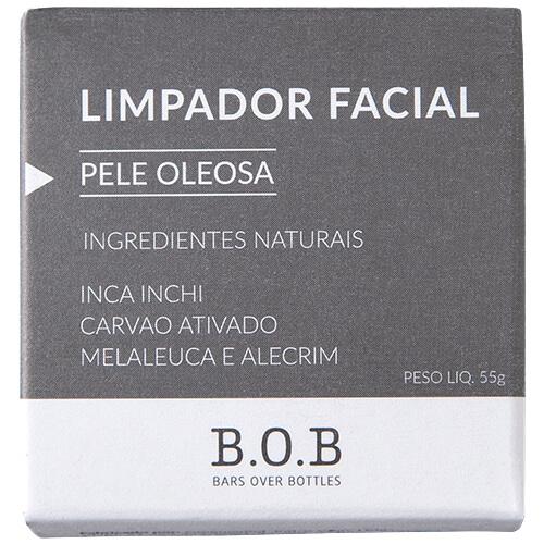 Limpador Facial Natural em Barra - Pele Oleosa - B.O.B