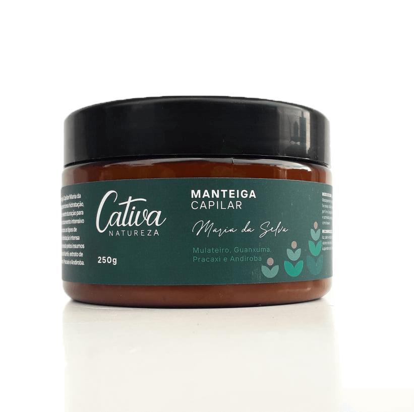 Manteiga Capilar Natural - Maria da Selva - Cativa Natureza