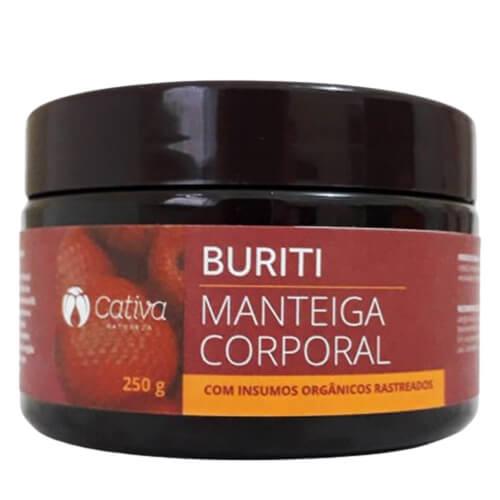 Manteiga Hidratante Corporal Natural - Buriti - Cativa Natureza