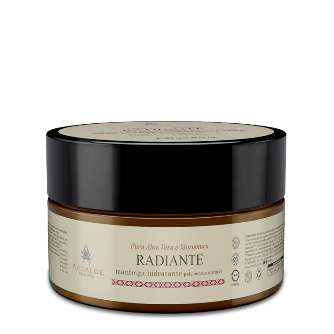 Manteiga Hidratante Natural - Radiante - AhoAloe   - SALVIA