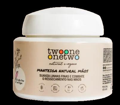 Manteiga Hidratante para Mãos Natural - Twoone Onetwo