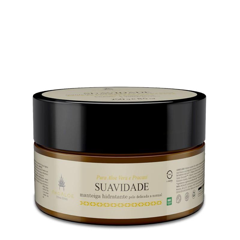 Manteiga Hidratante Natural - Suavidade - AhoAloe