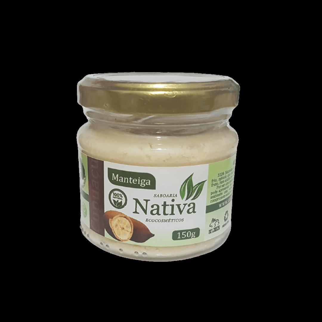 Manteiga Vegetal Natural - Cupuaçu - Nativa Eco-cosmética  - SALVIA