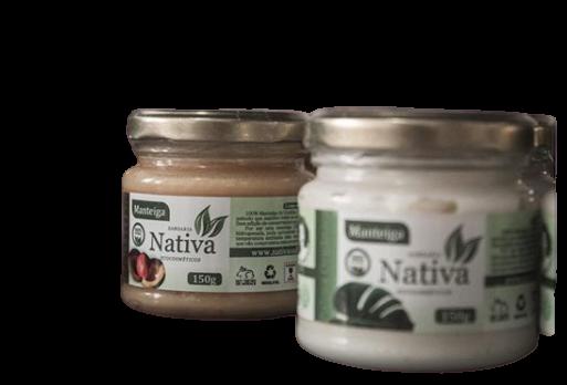 Manteiga Vegetal Natural - Muru-muru - Nativa Eco-cosmética  - SALVIA