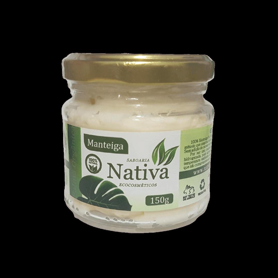 Manteiga Vegetal Natural - Palma - Nativa Eco-cosmética  - SALVIA