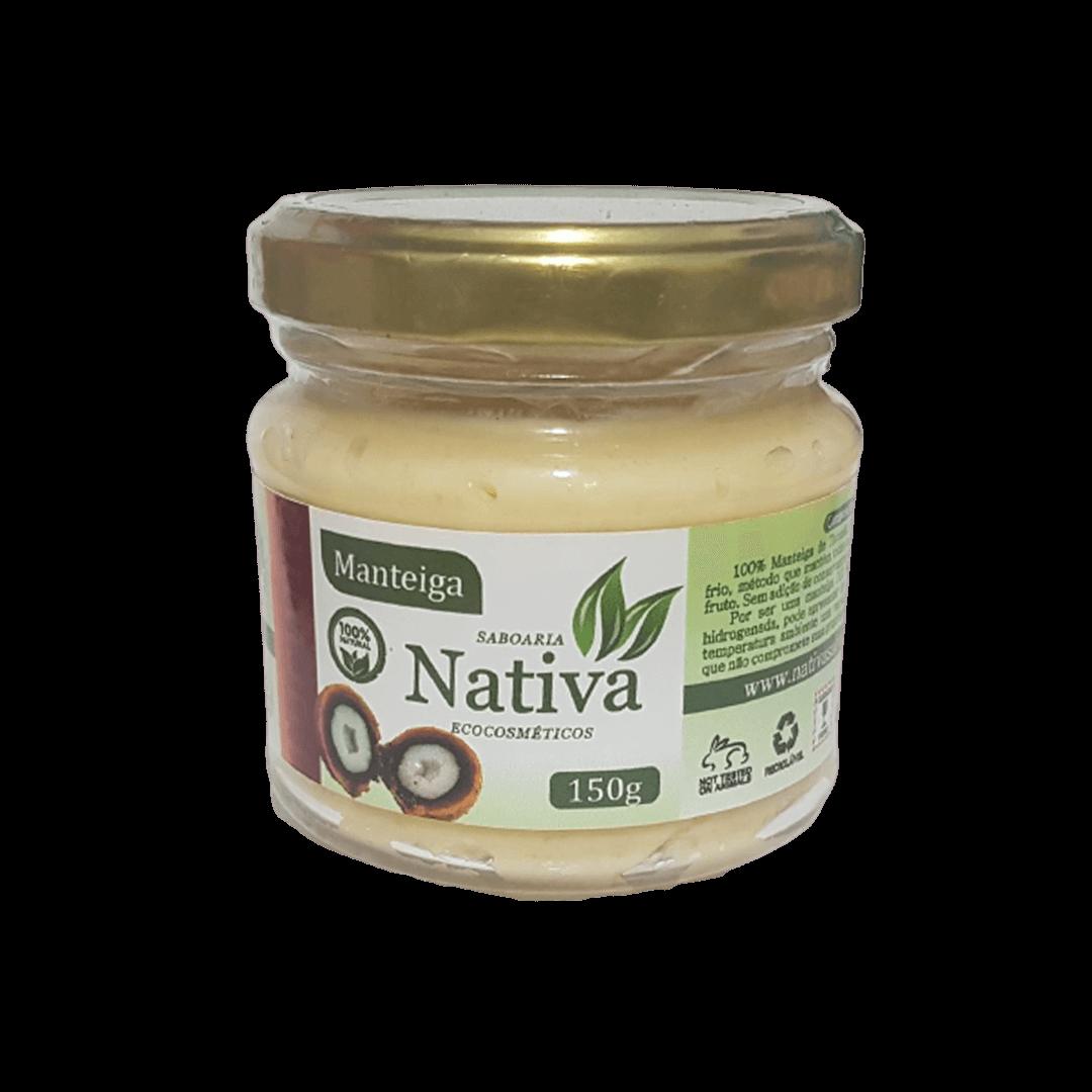 Manteiga Vegetal Natural - Tucumã - Nativa Eco-cosméticos