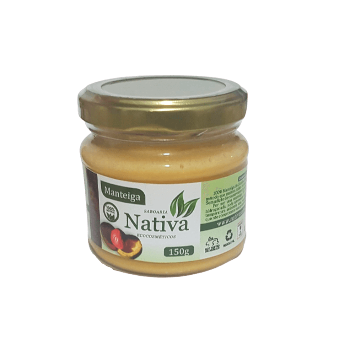 Manteiga Vegetal Natural - Ucuuba - Nativa Eco-cosméticos