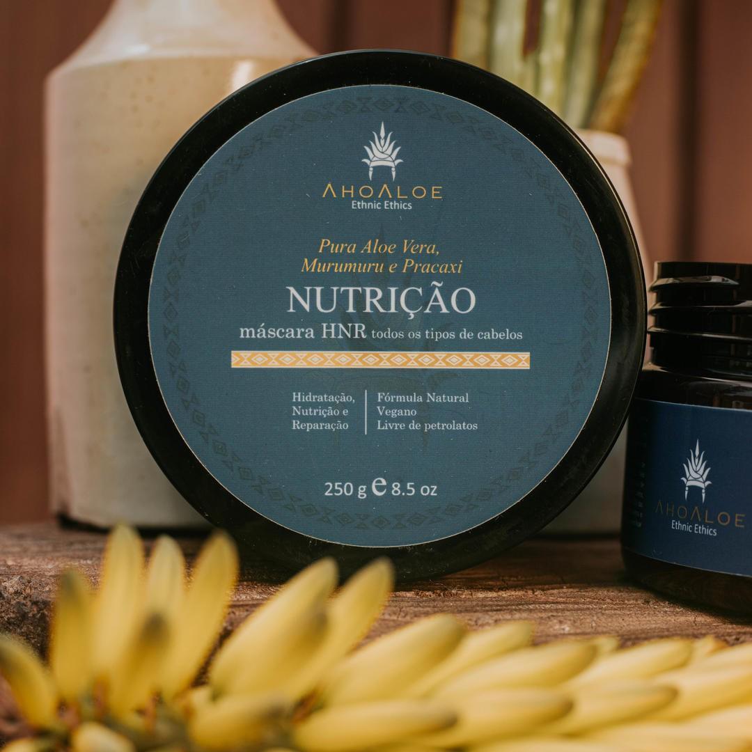Máscara Capilar Natural - Nutrição - AhoAloe   - SALVIA
