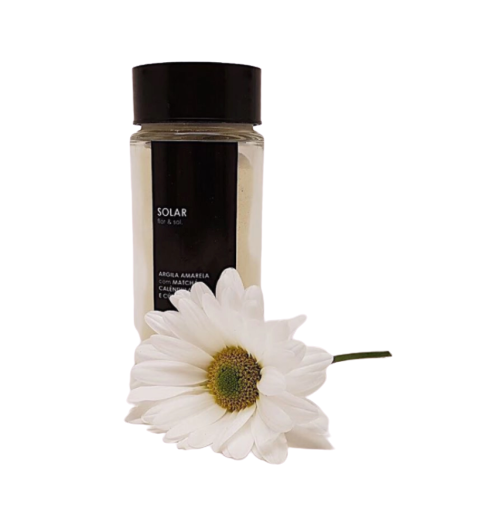 Máscara de Argila Natural - Solar - flor & sol