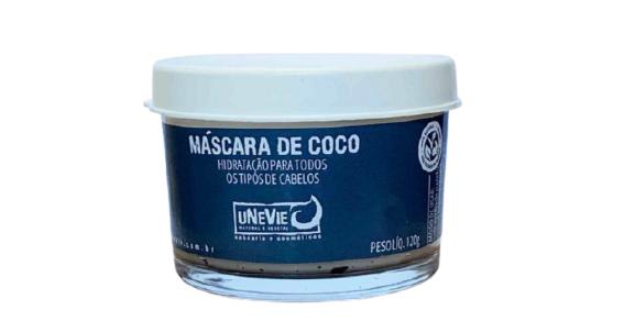 Máscara Natural de Coco  - uNeVie  - SALVIA
