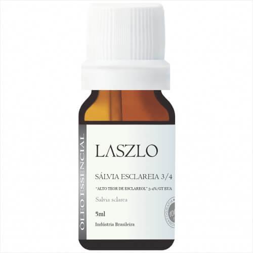 Óleo Essencial - Salvia Esclareia 3/4 - Laszlo
