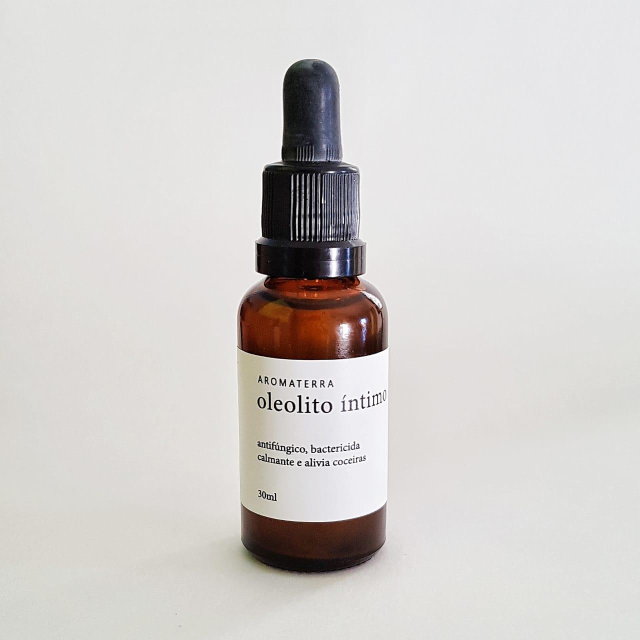 Oleolito Íntimo Natural - Aromaterra Botânica  - SALVIA