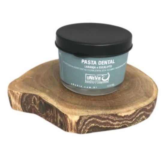 Pasta de Dentes Natural - Laranja e Eucalipto - uNeVie  - SALVIA