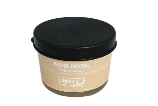 Pasta de Dentes Natural - Canela e Menta - uNeVie  - SALVIA