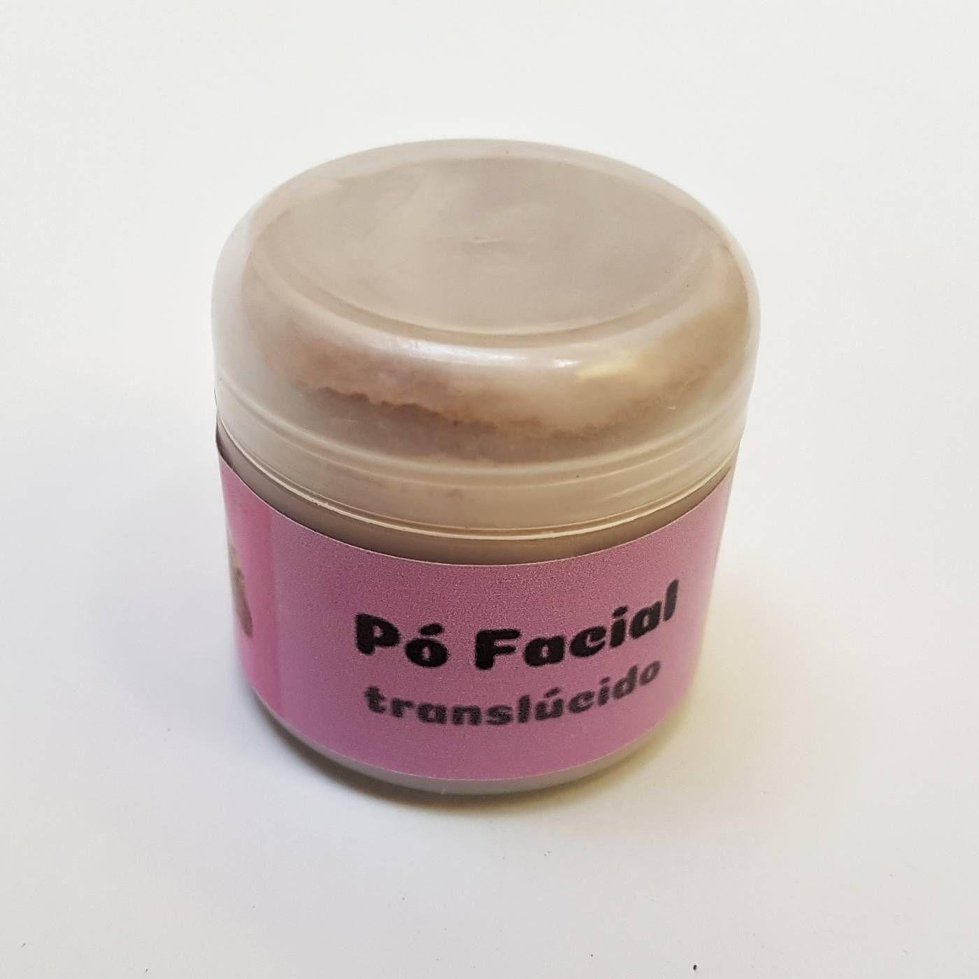 Pó Facial Natural Translúcido - Brisa no Ar  - SALVIA