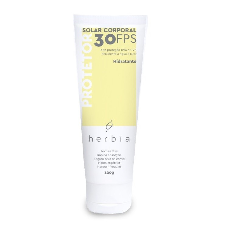 Protetor Solar Corporal Natural FPS 30 - Herbia  - SALVIA