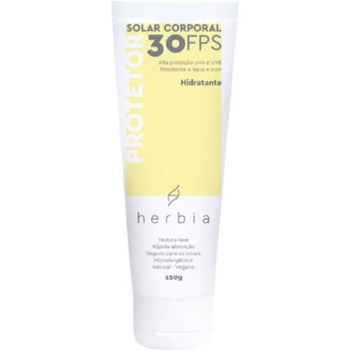 Protetor Solar Corporal Natural FPS 30 - Herbia