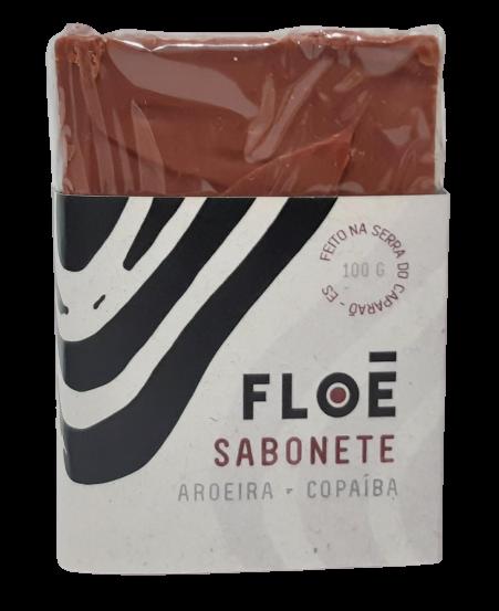 Sabonete Facial e Corporal Natural - Aroeira e Copaíba - Floë Natural  - SALVIA
