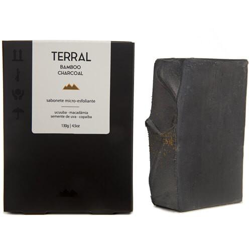 Sabonete Facial e Corporal Natural - Carvão Ativado de Bambu - TERRAL