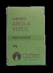 Sabonete Facial Natural - Argila Verde - Cativa Natureza