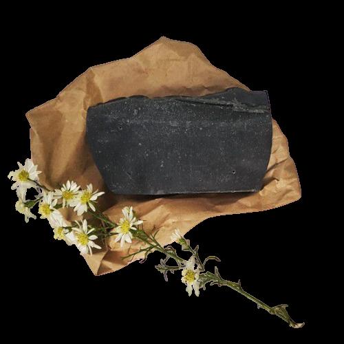 Sabonete Facial Natural - Carvão Ativado e Hortelã Pimenta - Divina Fulô  - SALVIA