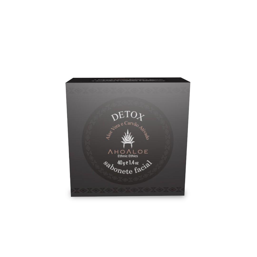 Sabonete Facial Natural - Detox - AhoAloe   - SALVIA