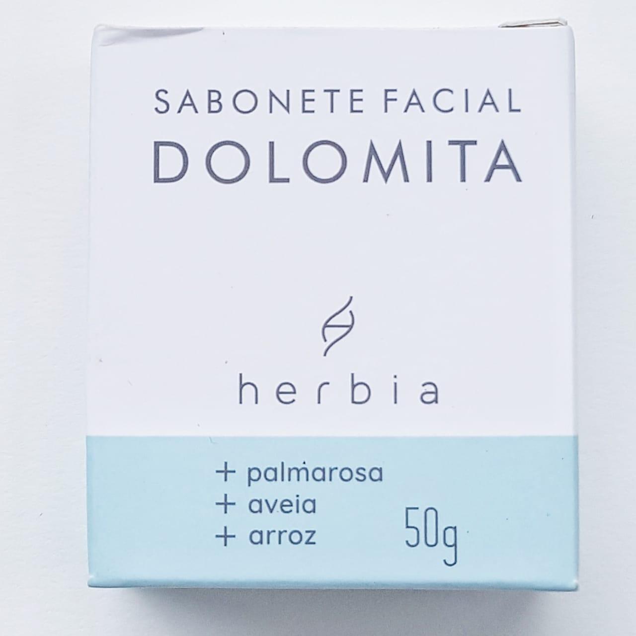 Sabonete Facial Natural - Dolomita - Herbia