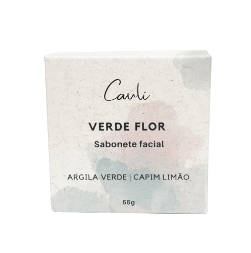 Sabonete Facial Natural - Verde Flor - Caulí  - SALVIA