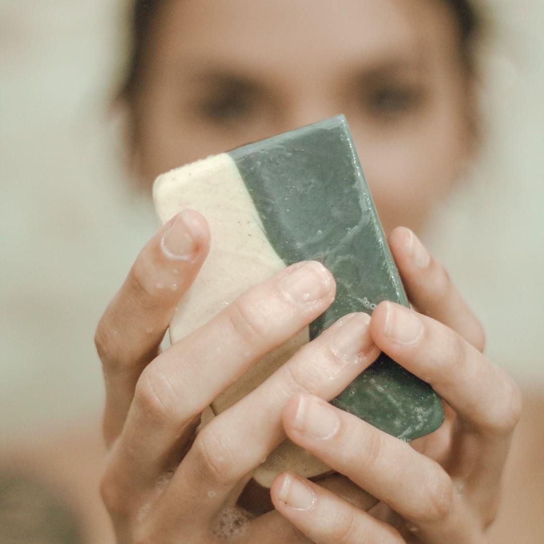Sabonete Natural - Argila Preta e Gengibre - TERRAL  - SALVIA
