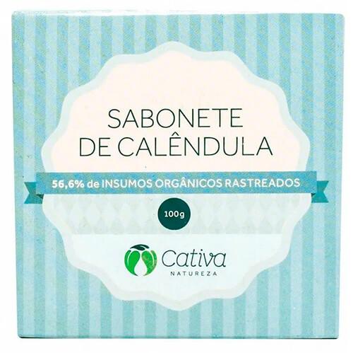 Sabonete Natural - Calêndula - Cativa Natureza