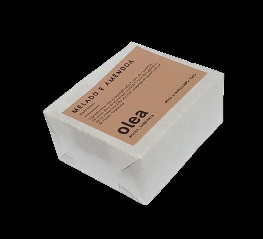 Sabonete Natural - Melado e Amêndoa - Olea  - SALVIA