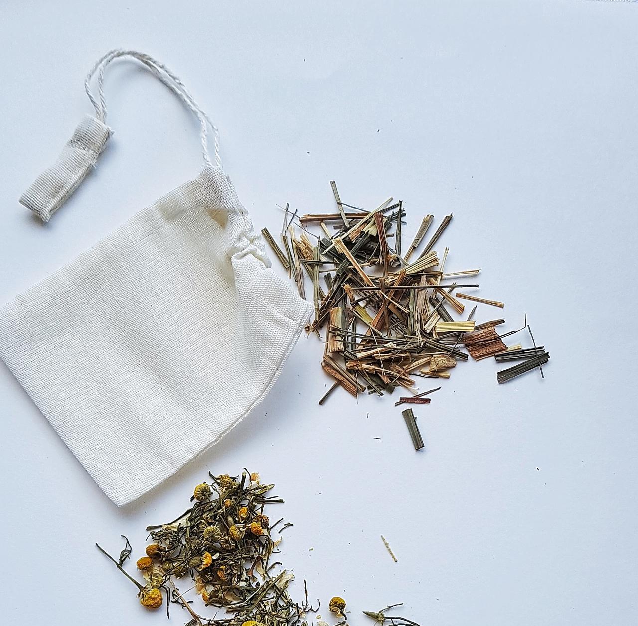 Sachê de Chá Reutilizável - SALVIA  - SALVIA