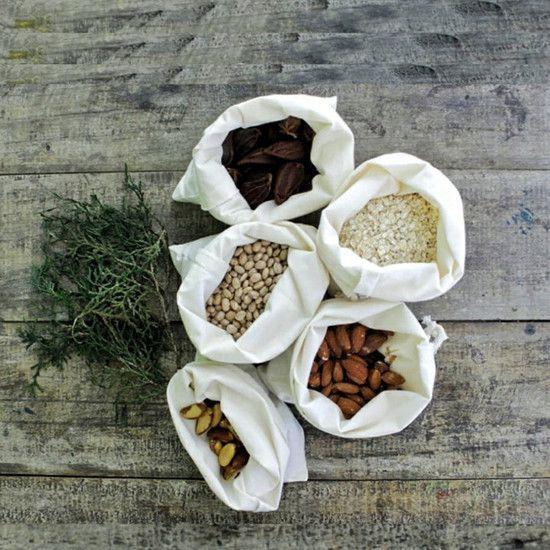 Saco para Granel - 100% Algodão - SALVIA  - SALVIA