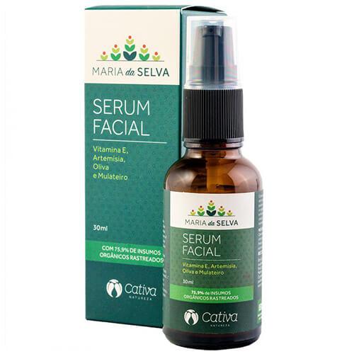 Sérum Natural Facial - Maria da Selva - Cativa Natureza