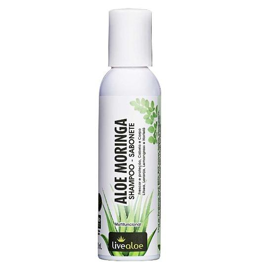 Shampoo e Sabonete Líquido Multifuncional Natural - Aloe Moringa - Livealoe