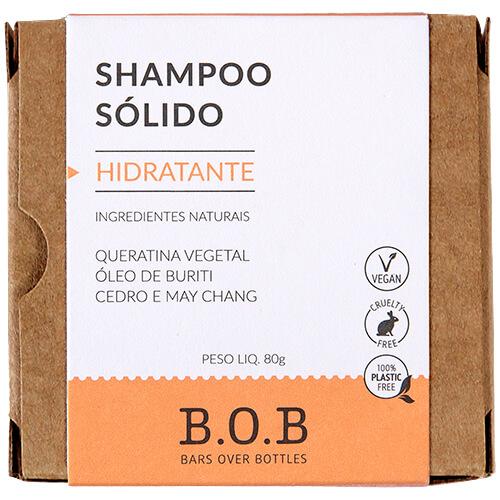 Shampoo em Barra Natural - Hidratante - B.O.B