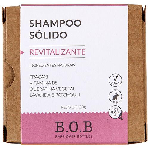 Shampoo em Barra Natural - Revitalizante - B.O.B