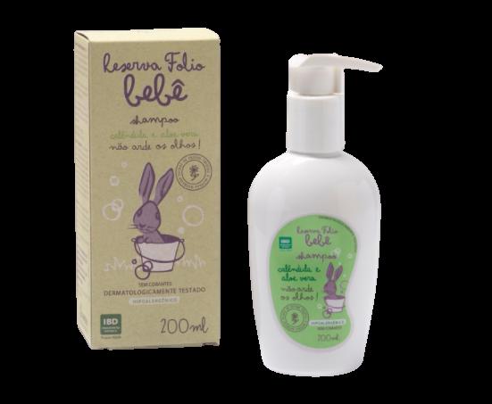 Shampoo Líquido Natural - Calêndula e Aloe Vera - Reserva Folio  - SALVIA