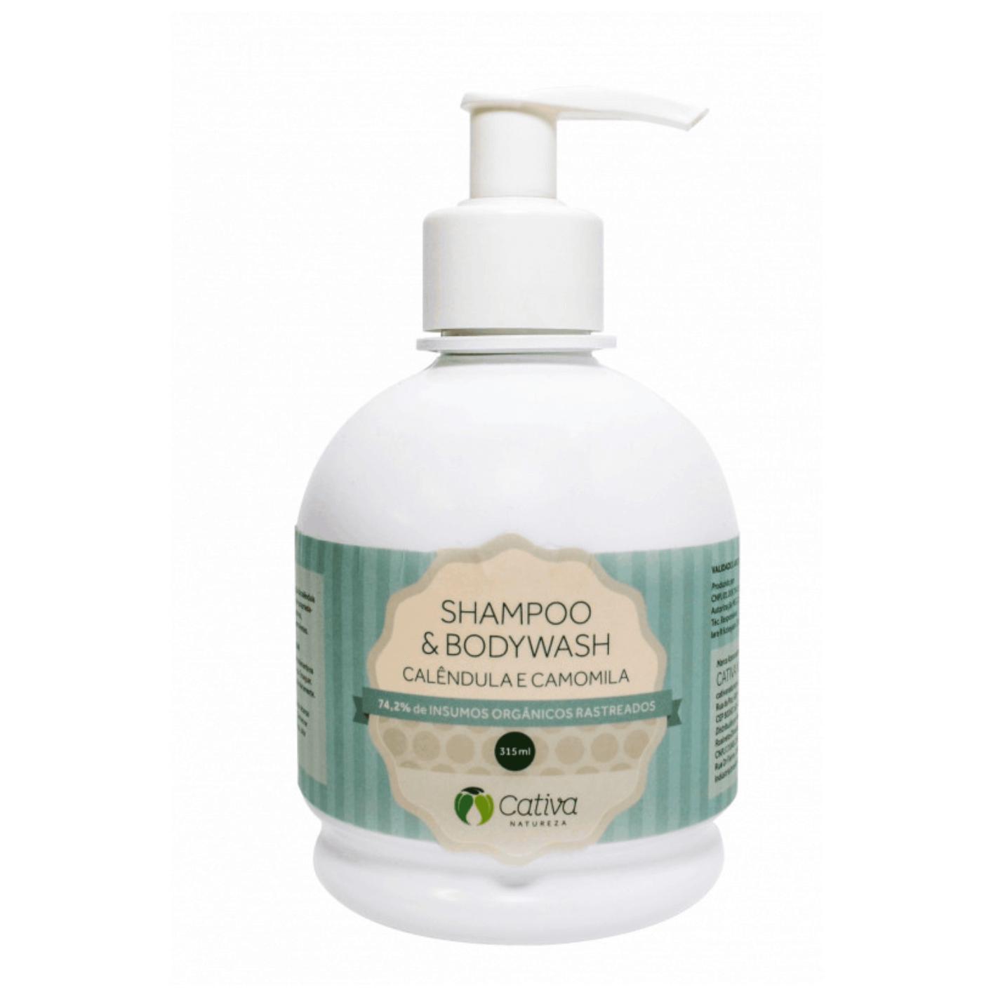 Shampoo Líquido Natural - Calêndula e Camomila -   - SALVIA