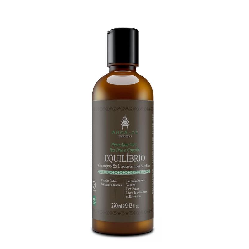 Shampoo Líquido Natural - Equilíbrio 2x1 - AhoAloe