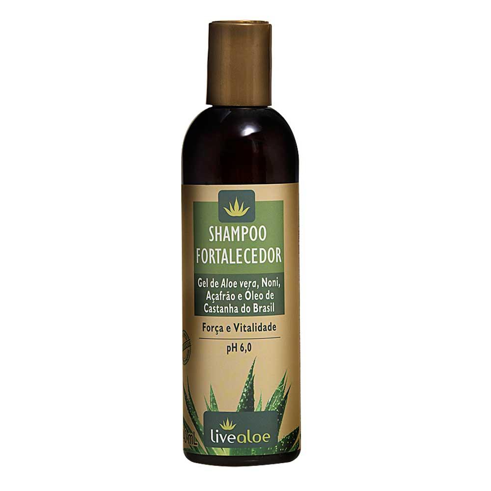 Shampoo Líquido Natural - Fortalecedor - Livealoe