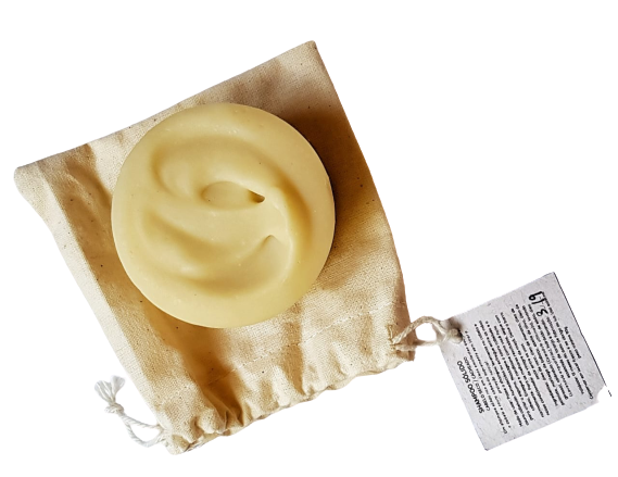 Shampoo Sólido Natural - Calêndula, Abacate e Babaçu - Floë Natural  - SALVIA