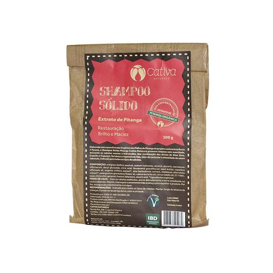 Shampoo Sólido Natural - Pitanga - Cativa Natureza   - SALVIA
