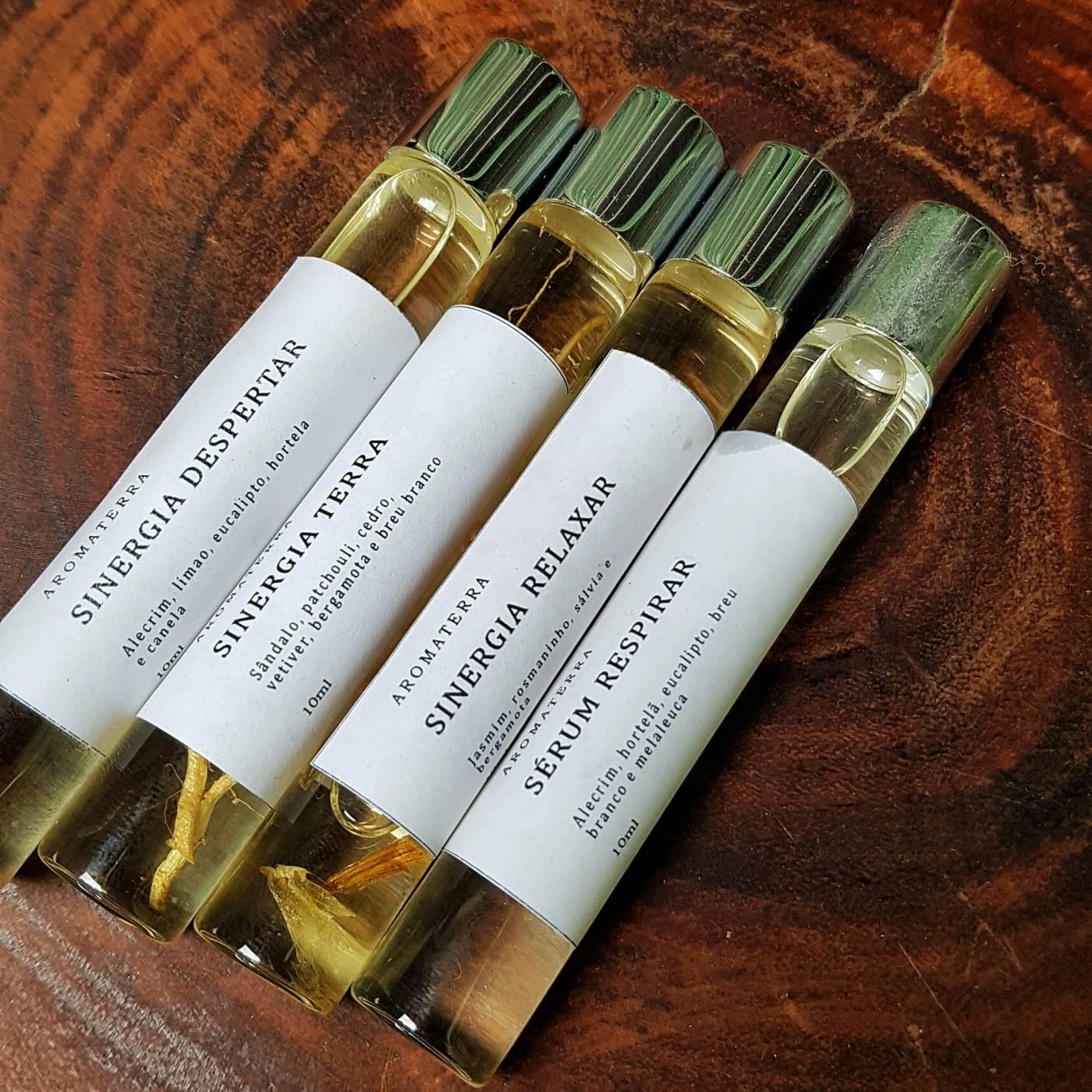 Sinergia Roll-on - Citrus - Aromaterra Botânica