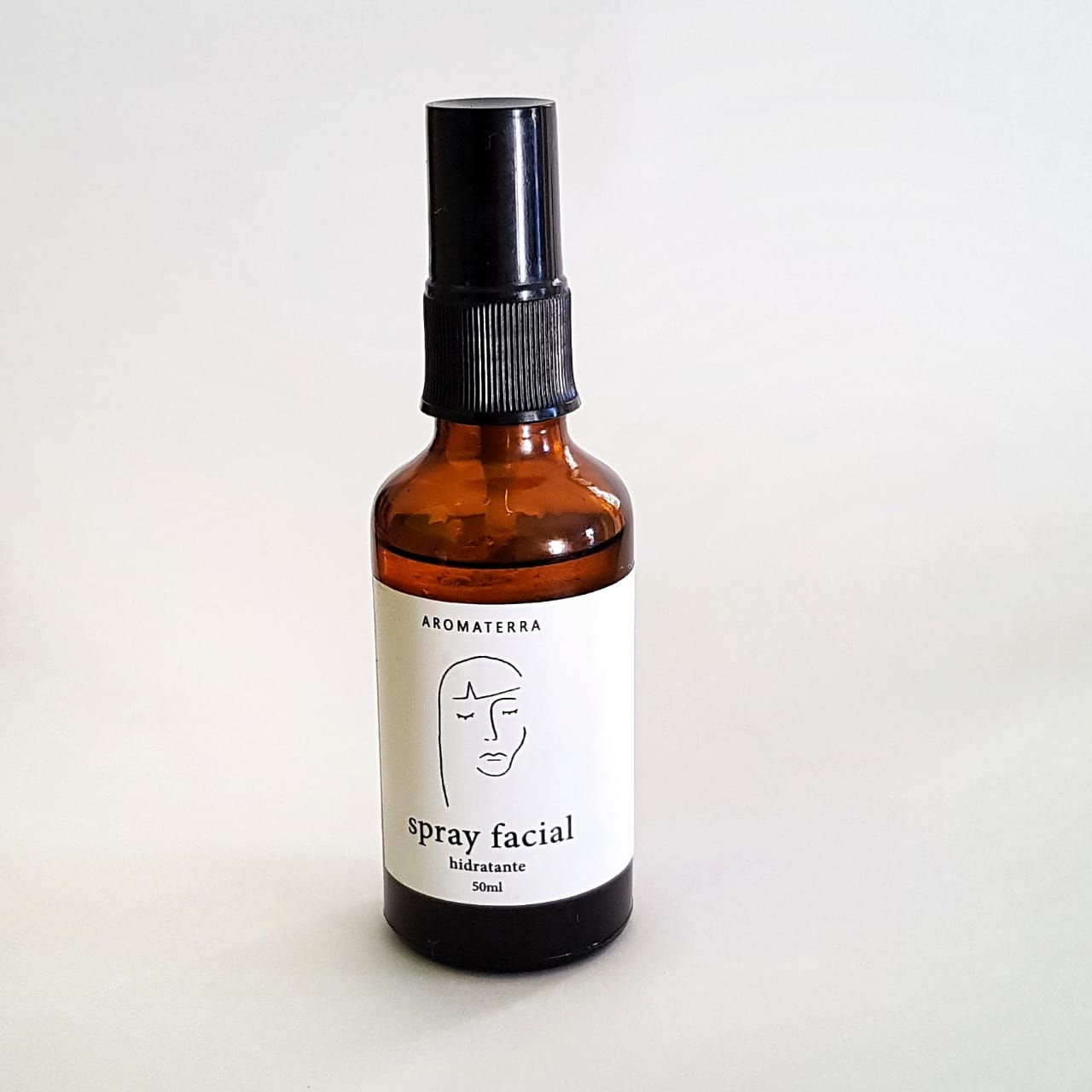 Spray Facial Natural - Hidratante - Aromaterra Botânica  - SALVIA