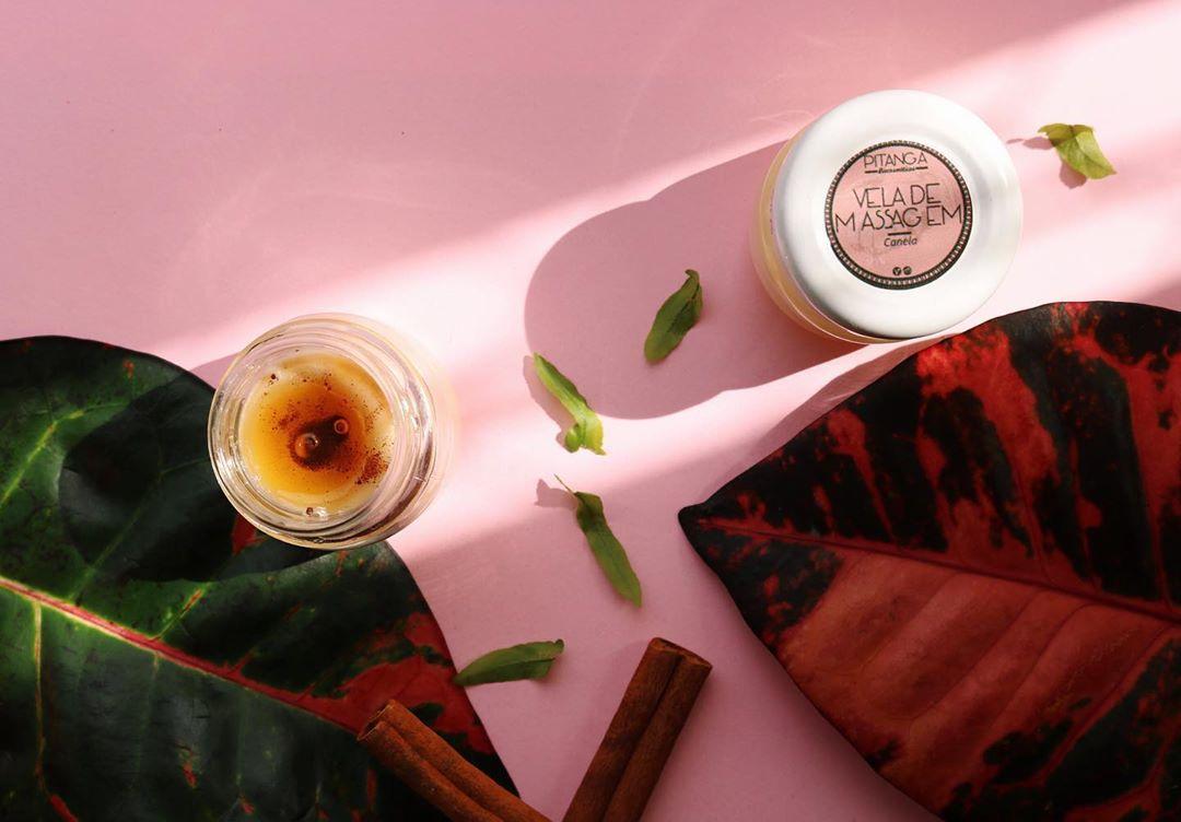 Vela de Massagem Natural  -  Pitanga Biocosméticos  - SALVIA