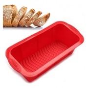 Forma para Pão em Silicone Glacê Brinox Rosa