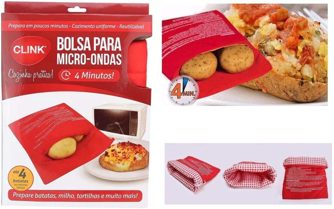 BOLSA COZEDORA  DE BATATAS PARA MICROONDAS CLINK