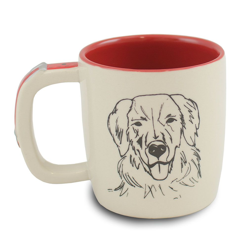 "CANECA PET 350ML  ""GOLDEN"""